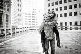 Winter Engagement Photos | Downtown Calgary | Calgary Wedding Photographer | Love | Carlin Anquist Photography
