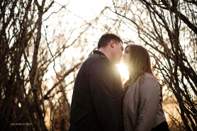 Sunset Engagement Session | Calgary Wedding Photographers | Carlin Anquist Photography