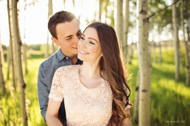 Sunset Engagement Photos | Carlin Anquist Photography