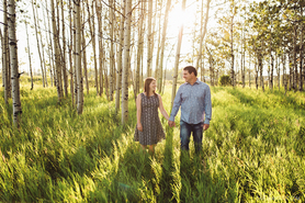 Calgary Engagement Photographer | Sunset
