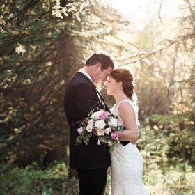 Beautiful Wedding Photography | Canmore Nordic Centre Wedding