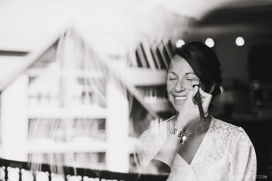 Bride Getting Ready | Canmore Wedding Photographers