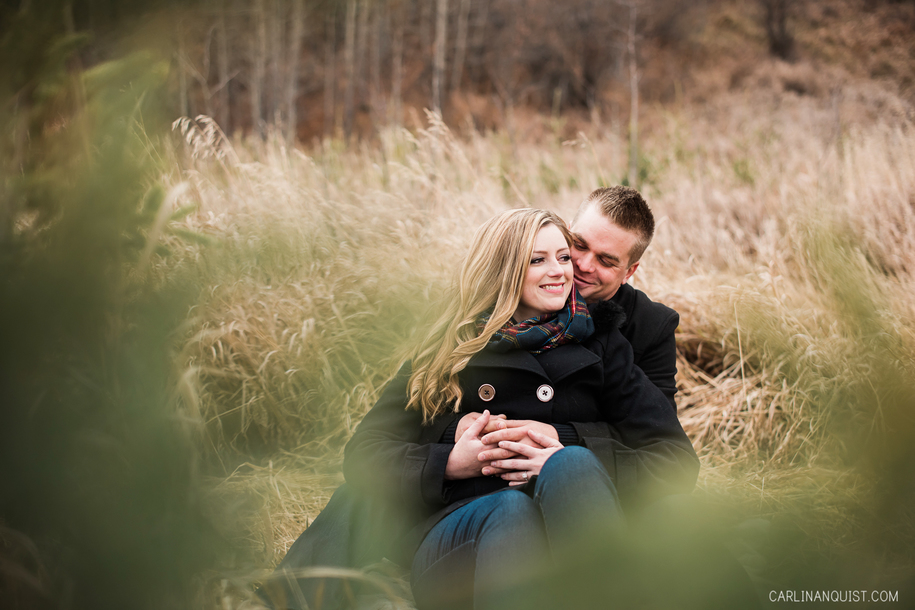 Engagement Photos at Big Hill Springs