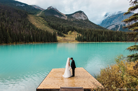 Emerald Lake Lodge Wedding | Field, British Columbia