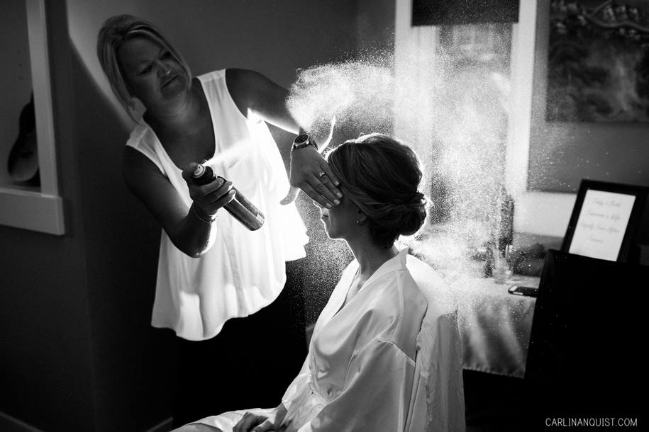 Bride Getting Ready | Pinebrook Golf Course Wedding Photographer