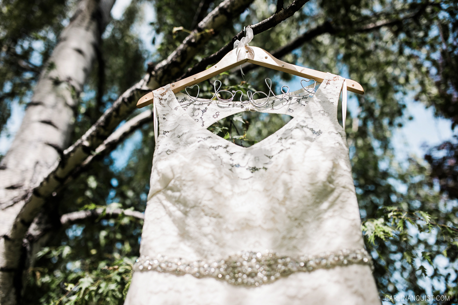 Bride Wedding Dress Hanger | Calgary Wedding Photographer