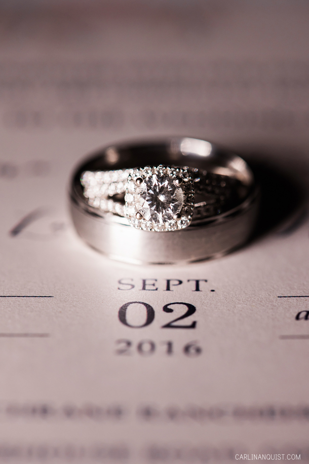 Wedding Invitation | Wedding Rings | Cochrane Wedding Photographer