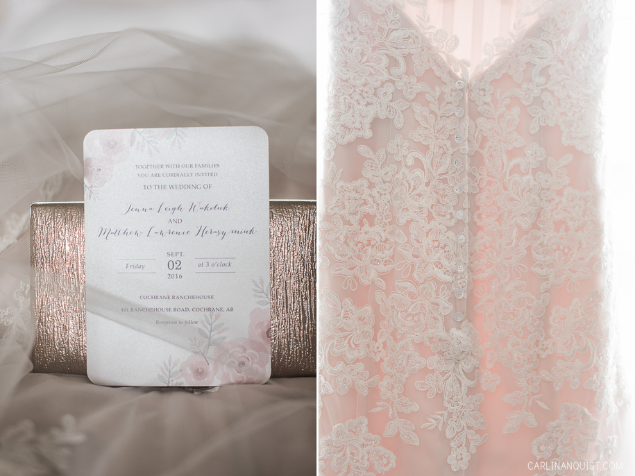 Wedding Invitation | Cochrane Wedding Photographer