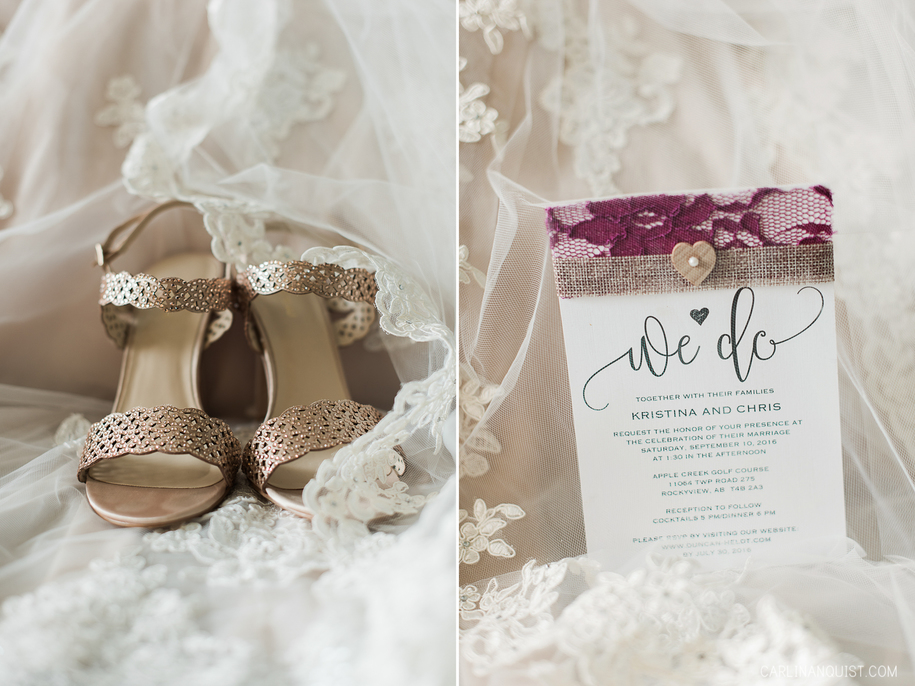 Wedding Shoes | Wedding Invitation