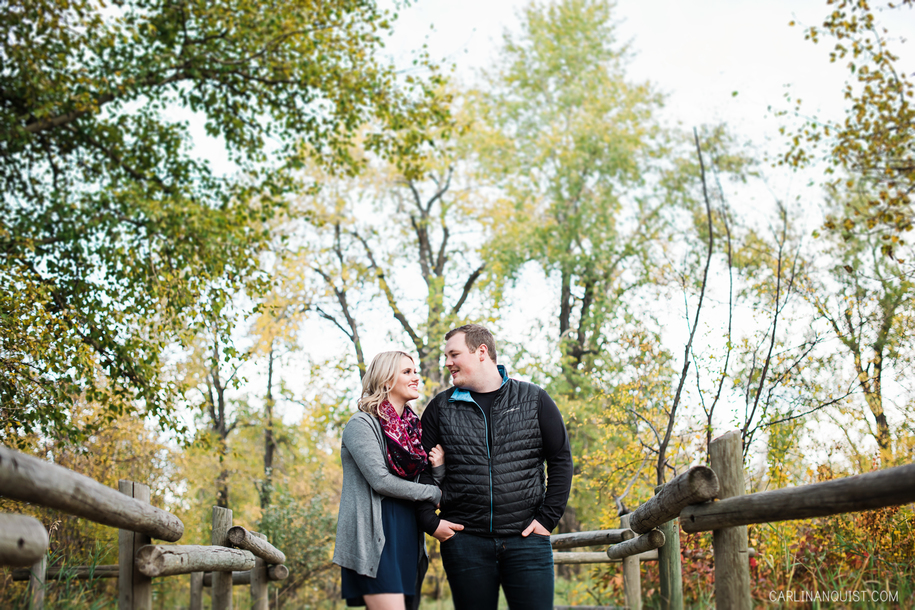 Pearce Estate Park Engagement Photos | Calgary, AB