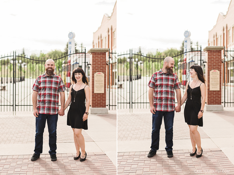 Heritage Park Engagement Photos