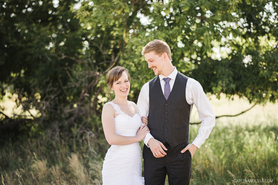 Wedding Photos in Fish Creek Park, Calgary AB