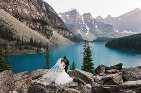 Moraine Lake Wedding Photos
