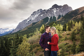 Kananaskis Village Engagement Photos