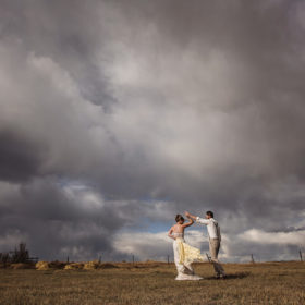 Stormy Wedding Photos